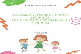 Çocuklarda ve Ergenlerde İnternet Bağımlılığı: